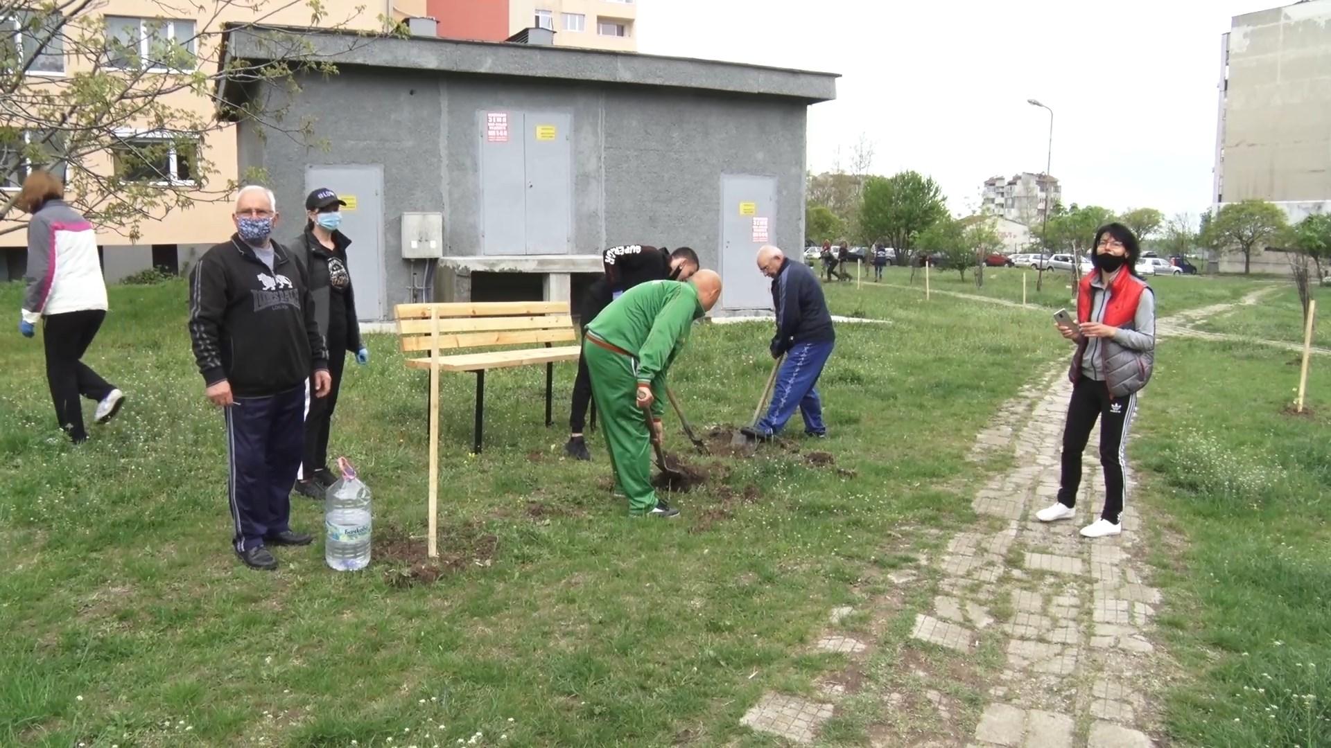 Граждани с инициатива за по-зелен Ямбол