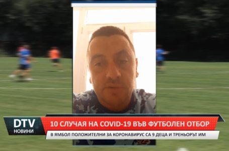 Covid-19 в школата на футболен клуб
