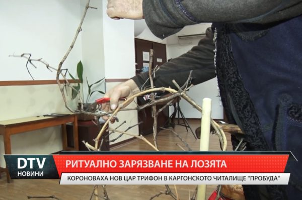 "Трифон Зарезан в читалище""Пробуда"""