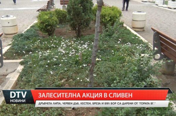 Залесителна акция в Сливен